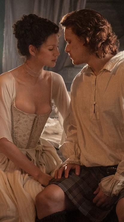 Jamie & Claire's Wedding Night In The Books Vs. The Show — A Comparison