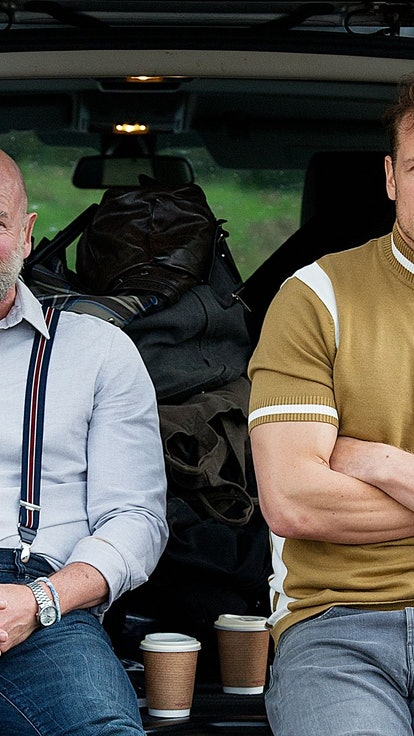 The Best Sam Heughan & Graham McTavish Friendship Moments From 'Outlander' & Beyond