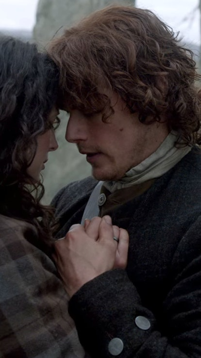 Here's When Jamie & Claire Fell In Love, According To 'Outlander' Author Diana Gabaldon