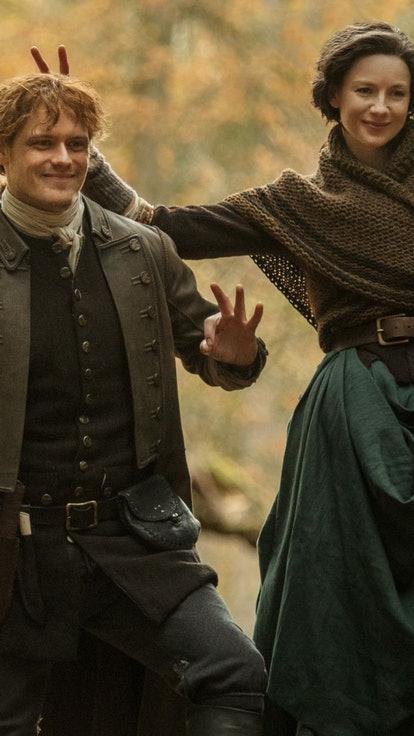 An Ode To The 'Outlander' Bloopers — Where A Time-Traveling Drama Gets Silly