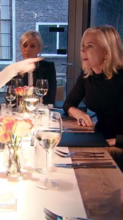 17 Quotes From The 'RHOBH' Amsterdam Dinner, Ranked