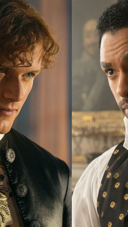Jamie From 'Outlander' Vs. Simon From 'Bridgerton' — Who Burns Best