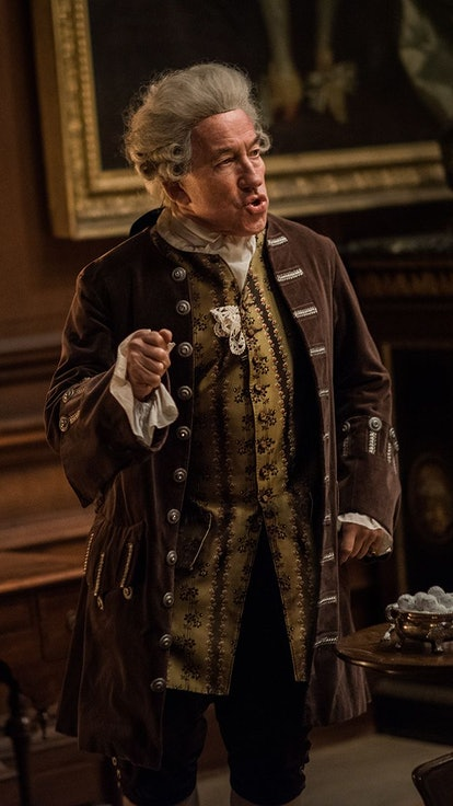 Simon Callow On Why The Duke Of Sandringham Needed To Die When He Did On 'Outlander'