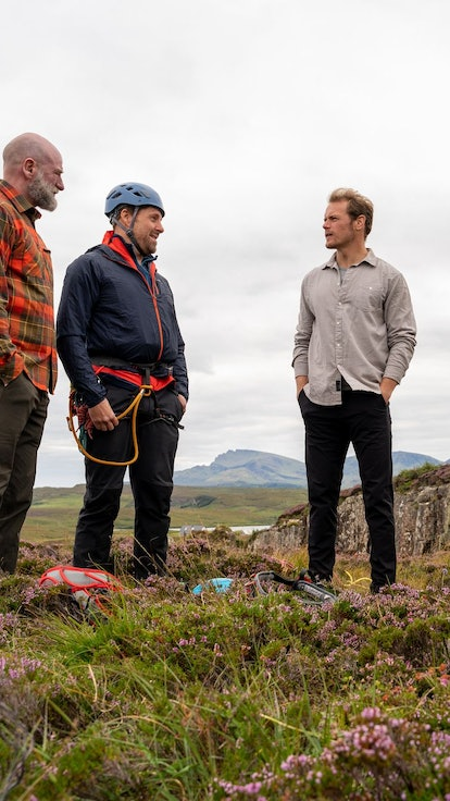 The 'Men In Kilts' Abseiling Adventure Proves You're Either A Graham McTavish Or Sam Heughan