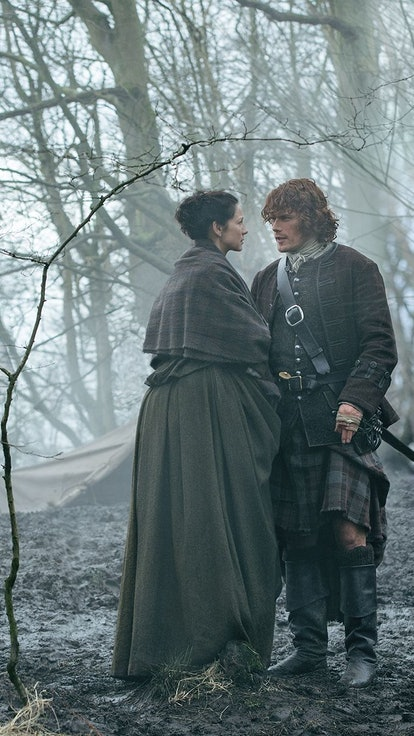Sam Heughan Reveals The Best Jamie & Claire 'Outlander' Moment Of All Time — Do You Agree?