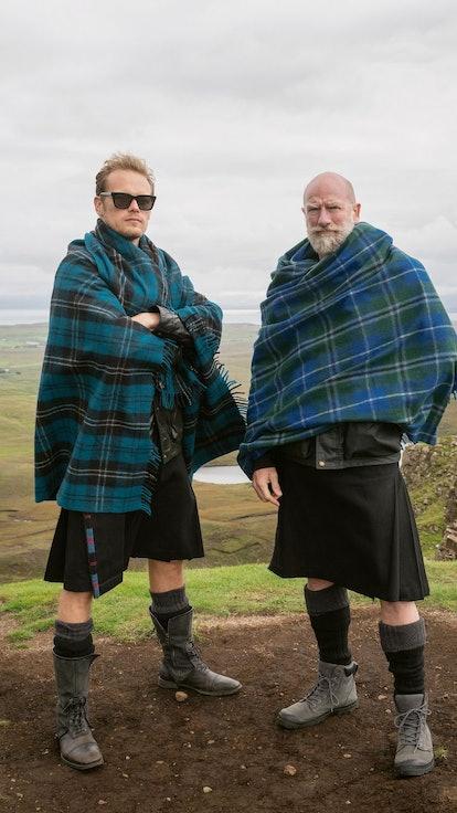 "Sam Heughan Has ""Never Heard Of"" 'Game Of Thrones' On 'Men In Kilts'"