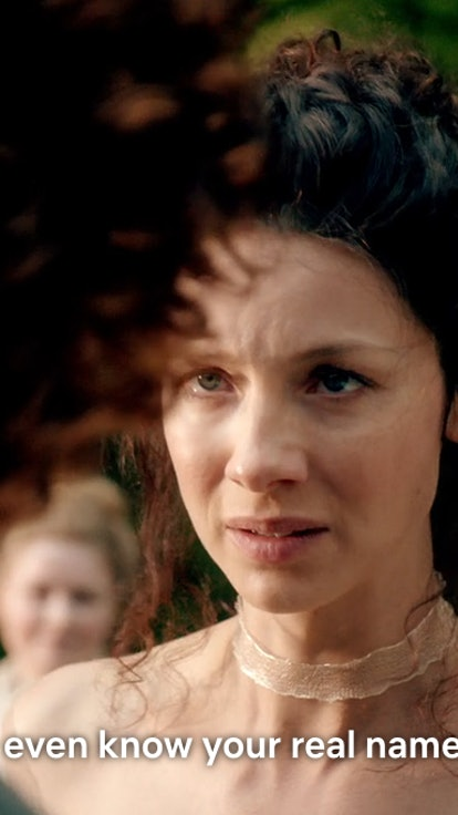 Remember When Claire Said She Didn't Know Jamie's Name On 'Outlander,' But She Totally Did?