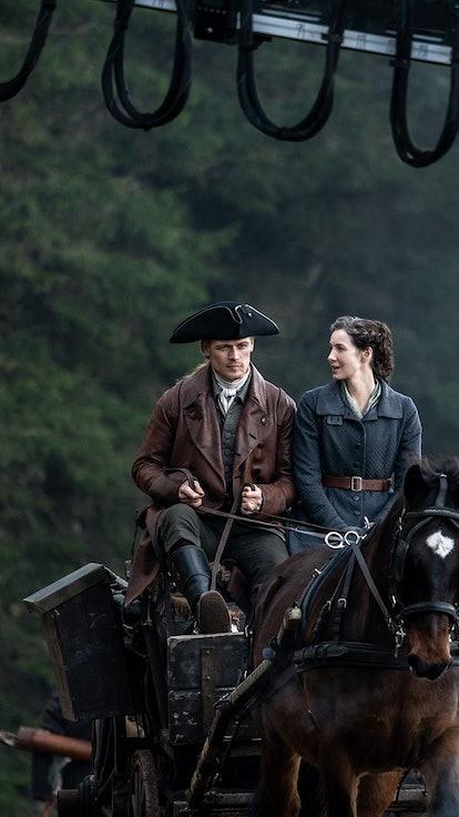 Diana Gabaldon Tells Us About 'Outlander' Season 6 Production, Scripts, & COVID Difficulties