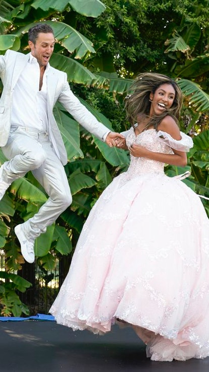 Here's What Tayshia & Zac Have Said About Their Wedding Plans Post-'Bachelorette'