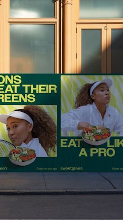 Naomi Osaka's Salad Emails Interrupted Temporarily By The Met Gala