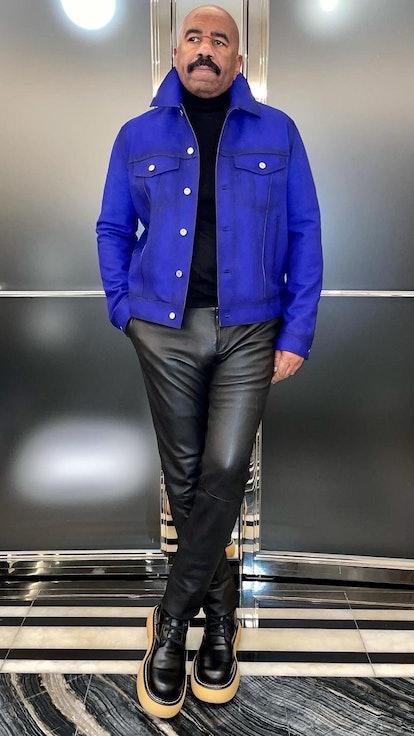Steve Harvey, Fashion Icon?