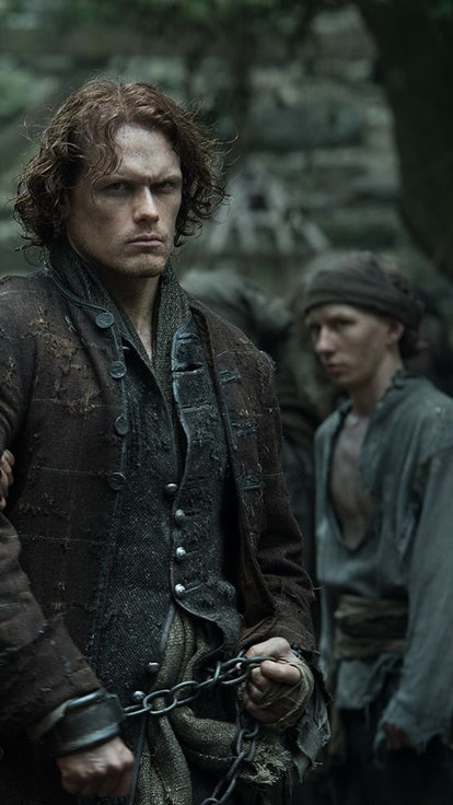Did Sam Heughan & Maril Davis Confirm The 'Outlander' Ardsmuir Flashback Theory?